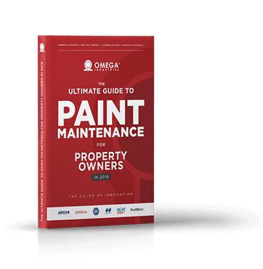 Omega Industries book on painting maintenance.
